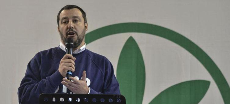 Matteo Salvini scopre la mafia al Nord