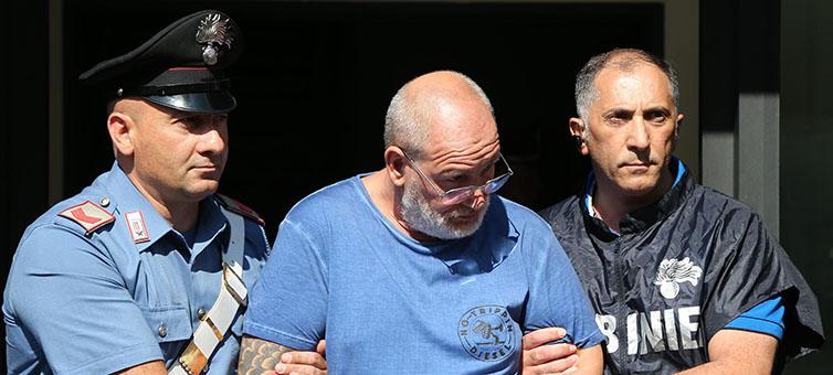 Il boss Luigi Cimmino in carcere per la gelosia di una donna