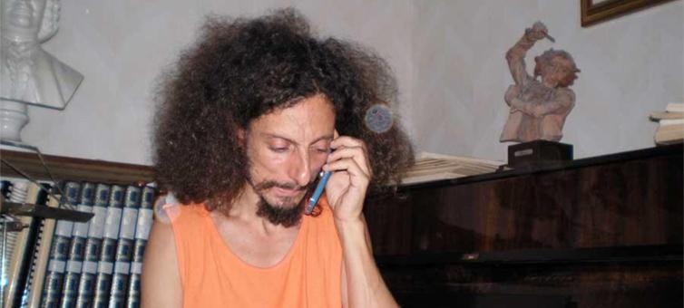 Fabrizio Pellegrini, in carcere. La sua colpa? Voler vivere